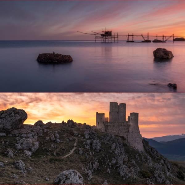 workshop fotografia Paesaggi d Abruzzo da Rocca Calascio ai trabocchi